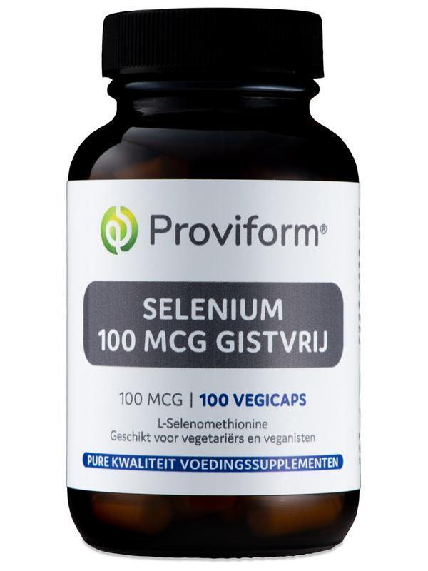 Selenium 100 mcg gistvrij