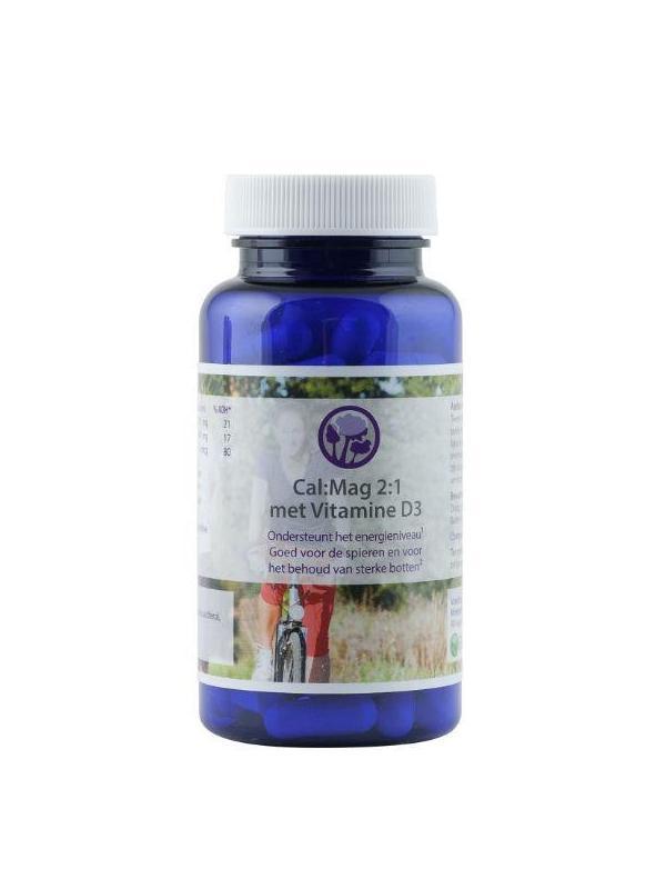 Cal:Mag Calcium Magnesium 2:1 met vitamine D3