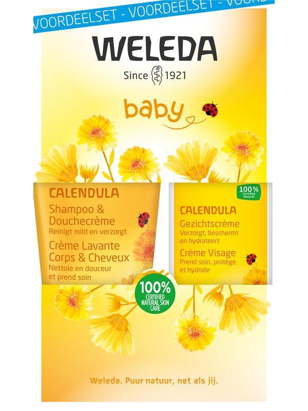 Calendula baby gezichtscreme voordeelset