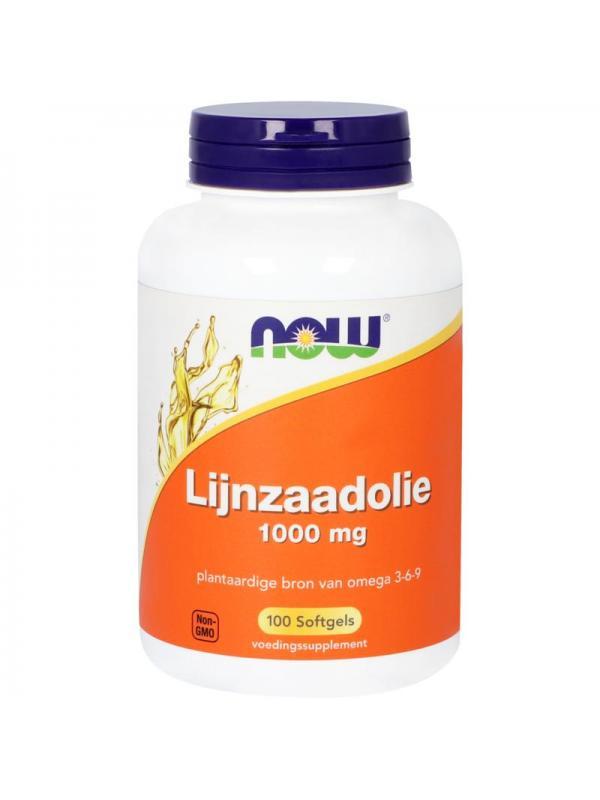 Lijnzaad olie 1000 mg